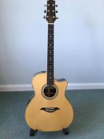 Turner 84CE Grand Auditorium Electro Acoustic Guitar