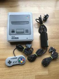 Nintendo SNES console