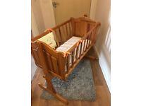Mamas & Papas baby Crib- Wooden