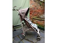 Mothercare Jive pushchair in dino print