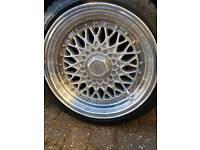 "Alloy wheels 16 "" bbs replica"
