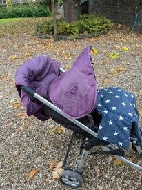 Icandy pushchair and carrycot