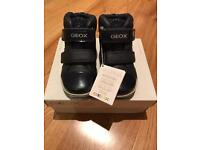 New GEOX girls shoes Blue - size 26 - UK 8.5