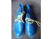 Migato Royal Blue flat heel women's shoes 40/7