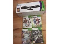 Xbox KINNECT! Comes With 4 Games Kinnext Adventures Fifa 14 Fifa 15 GTA Fast & Furious