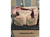 Beautiful yummy mummy changing bag