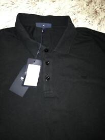 ARMANI POLO TEE SHIRT BLACK