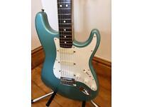 1997 Fender American Stratocaster – Sage Green Metallic - Plus Lace Sensors