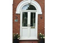 UPVC French Doors 95 X 48.5 WITH ARCH OR WITHOUT ARCH 78 X 48.5