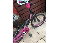 GIRLS BIKE 22 inch WHEELS £10