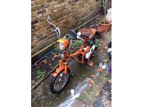 Honda Express,year 1976 in mint condition.Runs perfectly,fully serviced .