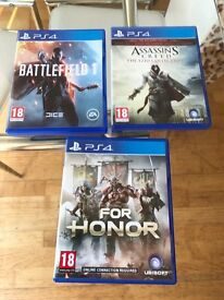 PS4 Games for sale £20 each