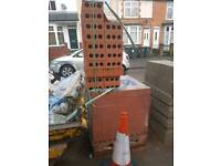 Approx 735 Ibstock Alderley Orange Bricks
