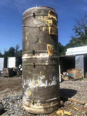 1750 Gallon Fiberglass Tank Liquid Water Oil Storage Tank