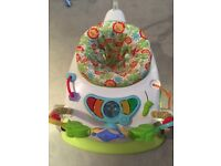 Fisher price Rainforest space saver Jumperoo x 2