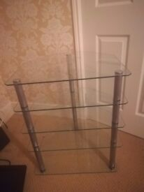 Lovely 5 tier glass stand