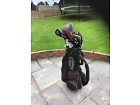 Golf clubs Taylormade and Callaway bag