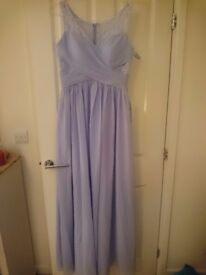 Lilac formal length dress. Size 12