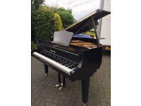 Black baby grand piano  Zimmerman  Belfast Pianos  