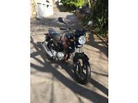 Yamaha YBR125 2013 9368 miles