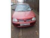Nissan micro very low mileage 59k automatic gearbox