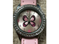 Brand New Toy Girl Tikkers Butterfly Watch Gift