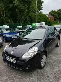Renault clio 1.5 dci black