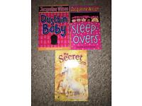 Jacqueline Wilson book + secret unicorn