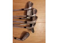 ben sayers set of irons and browning putter