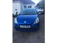 Renault Clio 1.2 I music 2010 plate only 61,000 miles
