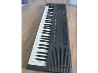 roland e-5 intelligent synthesizer with mains adaptor and manual