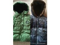 2 Boys coats 2-3years