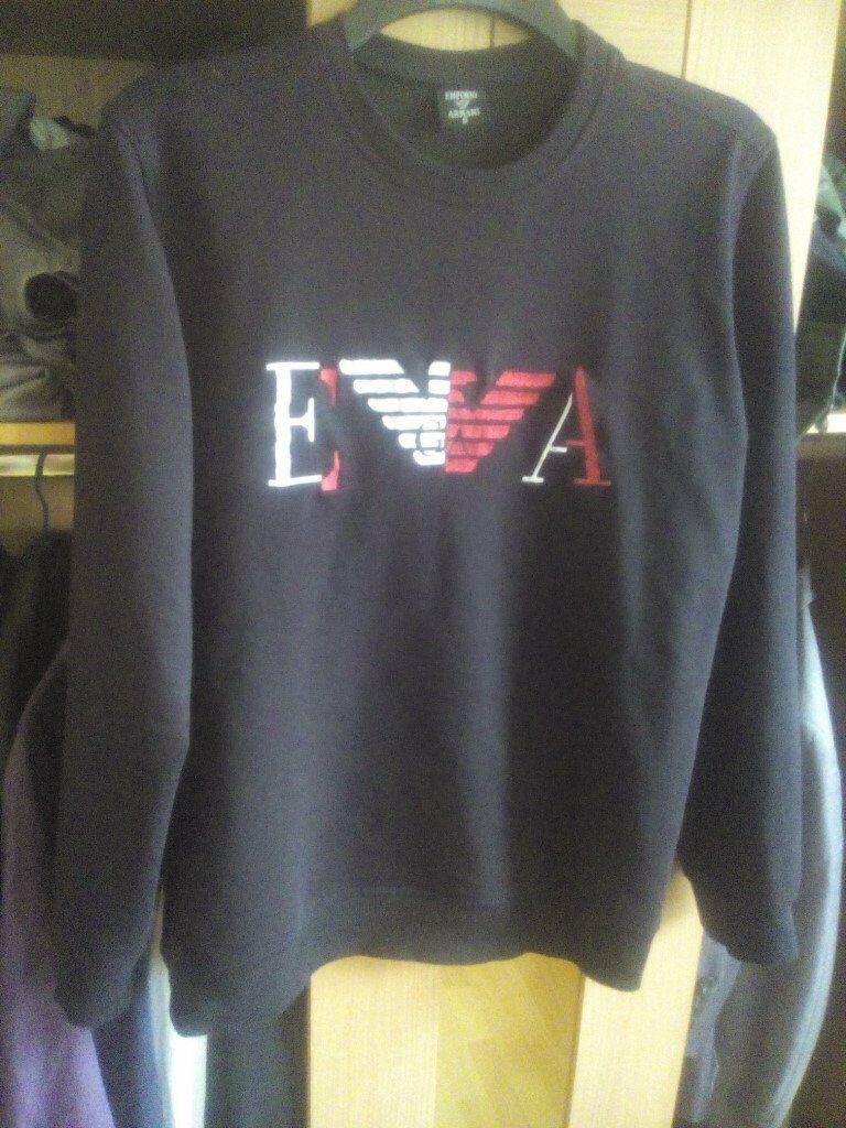 80487d22666 Emporio Armani sweatshirt/jumper (M) | in Whalley Range ...