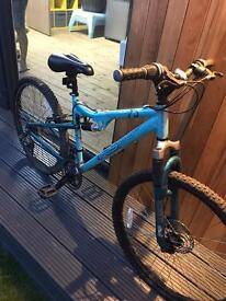 Female mountain bike