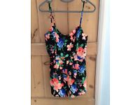 New Look floral playsuit, size 10