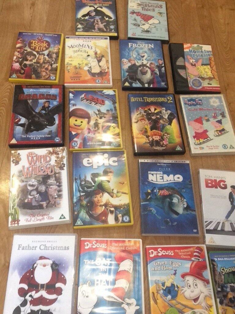 50 Children's DVD's