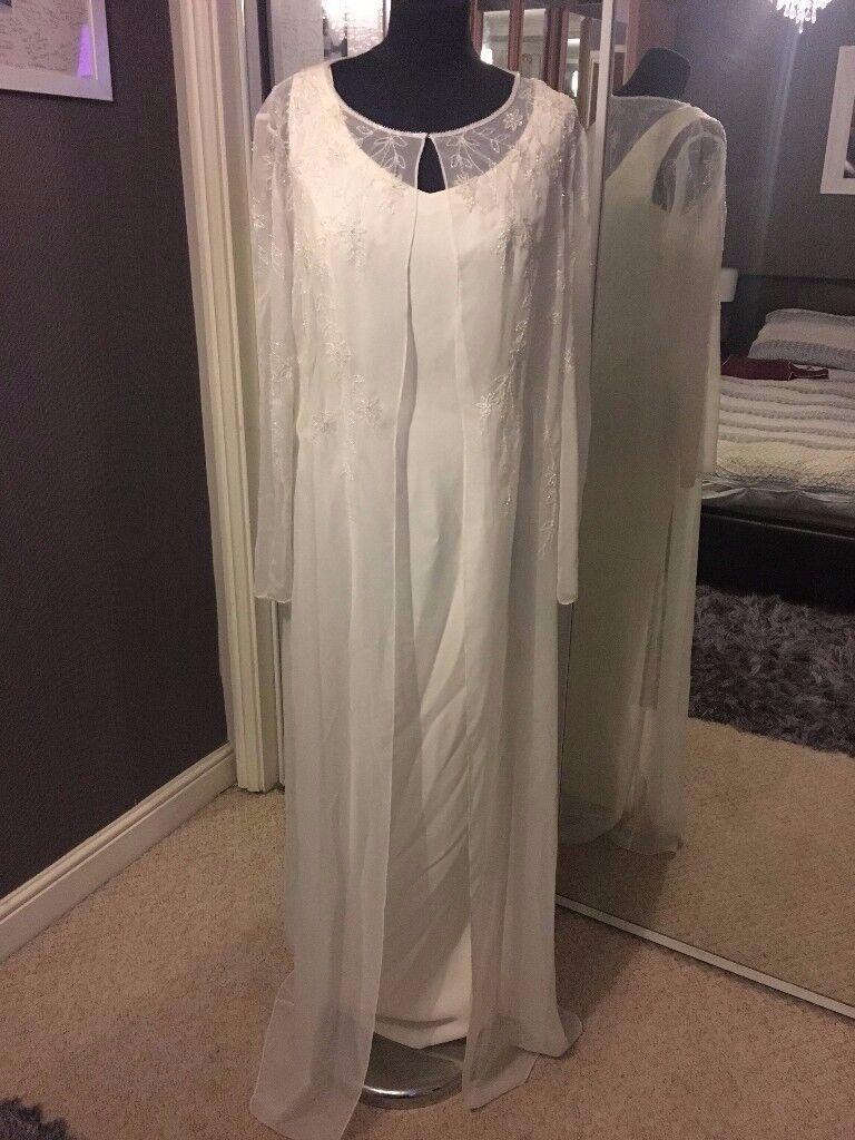 Brand New Wedding Dress (Ex Stock) Size 16