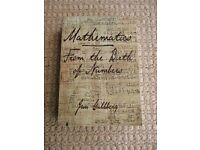 Mathematics From the Birth of Numbers Book by Jan Gullberg History of Maths
