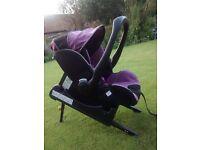 Recaro Isofix Baby Car Seat 'Young Profi Plus'