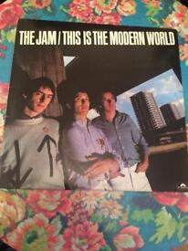 THE JAM LP RECORD VINYL THIS IS THE MODEN WORLD 1st PRESSING EX/EX++ RARE CAN POST UK