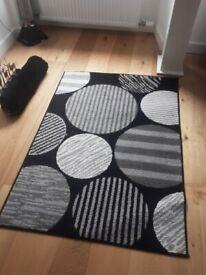 Rug / black & grey / nice design
