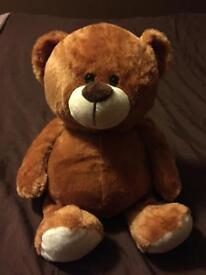 Brown teddy.