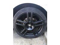Seat Leon Fr Wheels ( Genuine ) 4 GOOD TYRES