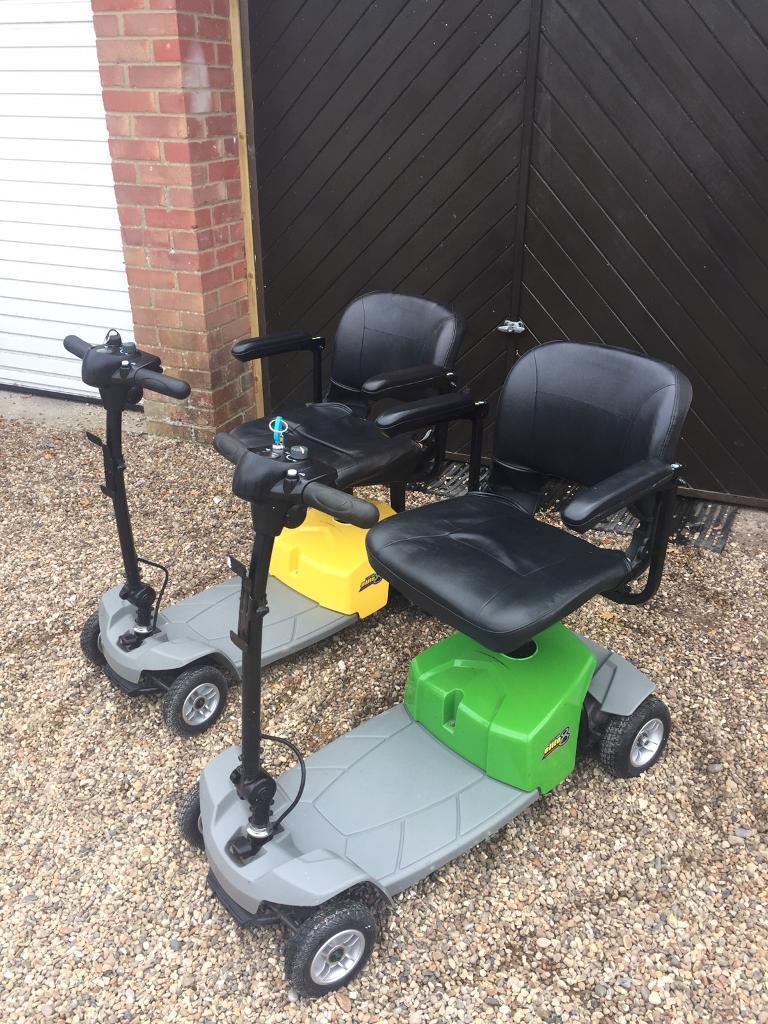 Pride mega motion Elite 8 mobility scooters