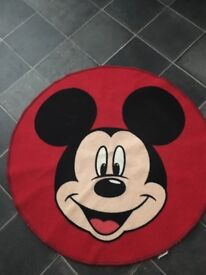 Mickey Mouse bedroom rug