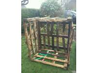 PALLET CRATE, free to collect. Compost bin