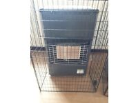 Superser portable Gas heater complete with detachable front and back guards