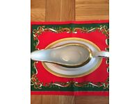Boots Imperial Gold - 1 x Gravy Boat and Saucer