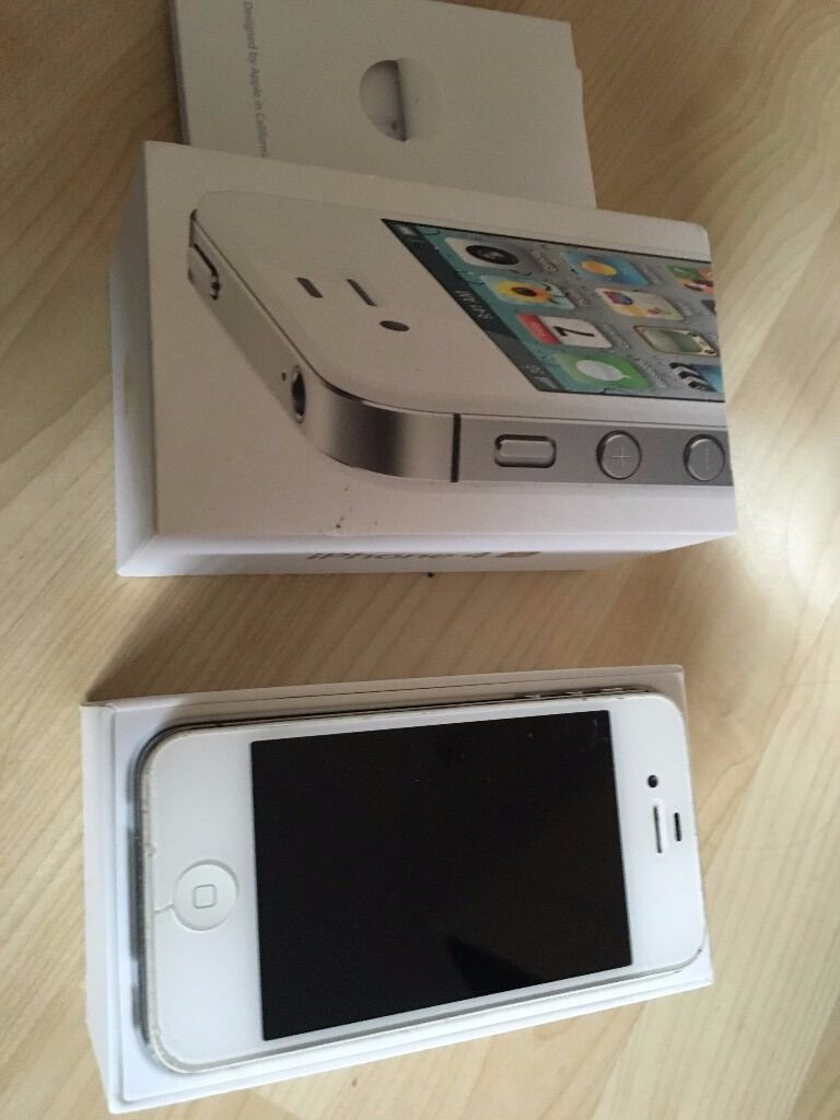 Iphone 4s WHITE 16GB- Used but in good condition