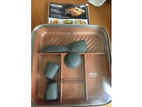 QuadraPan 4 in 1 Cooking Pan Excellent Condition!